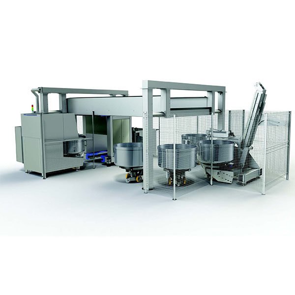 vmi 0006 VMI Automated mixing system with shuttle